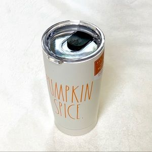 Rae Dunn PUMPKIN SPICE Insulated Travel Tumbler